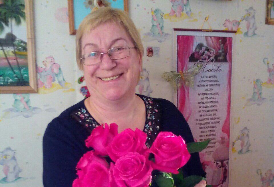 День рождения у нашей сотрудницы Ольги Ивановны
