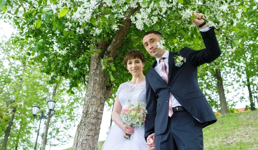 У нас праздник! Свадьба выпускника центра!